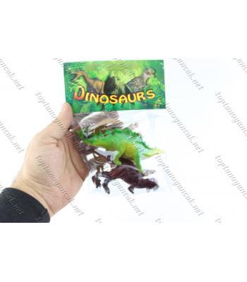Dinozor oyuncak toptan plastik poşetli