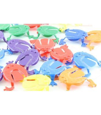 Oyuncak zıplayan kurbağa toptan promosyon