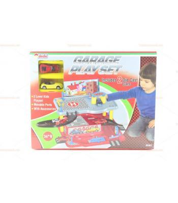 Katlı otopark araba garajı oyuncak