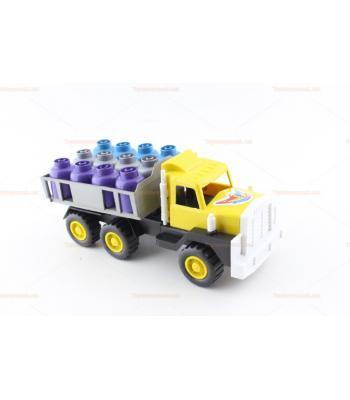 Tüplü kamyon plastik oyuncak küçük boy