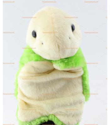 Toptan el kuklası sevimli kaplumbağa