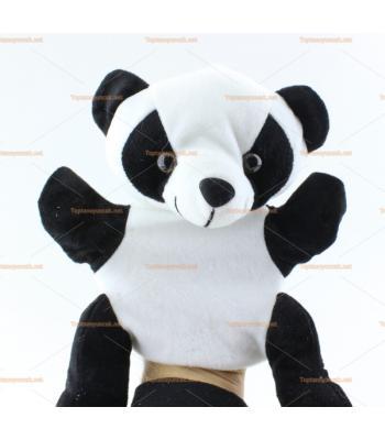 Toptan el kuklası sevimli panda