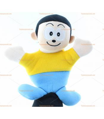 Toptan el kuklası sarı kazaklı çocuk