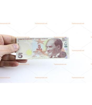 Toptan düğün parası 5 TL 100 lü deste