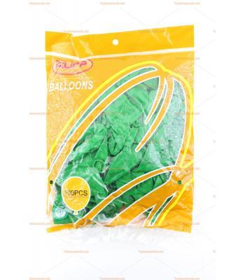 Toptan dış mekan balon yeşil 100 lü paket