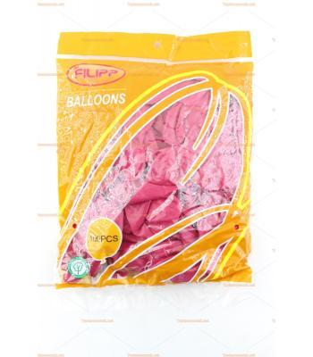 Toptan dış mekan balon vişne rengi 100 lü paket