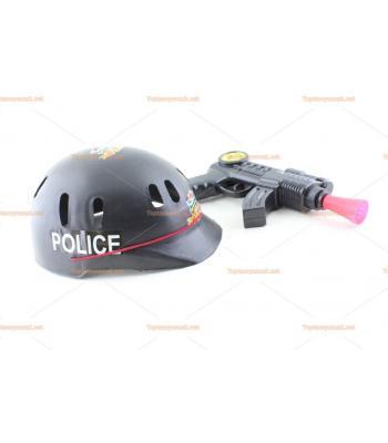 Toptan miğferli baretli polis set oyuncak