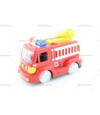 Türkçe anonslu itfaiye arabası eğitici oyuncak