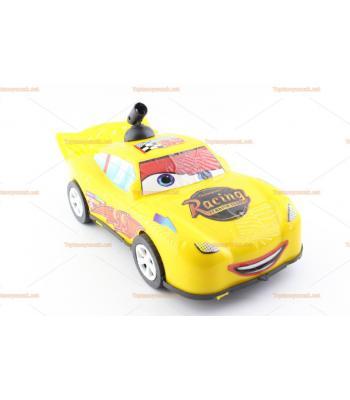 Toptan direksiyonlu sopalı araba büyük boy sarı 35 cm
