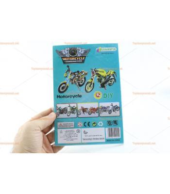 Toptan 3D karton yapboz motosiklet