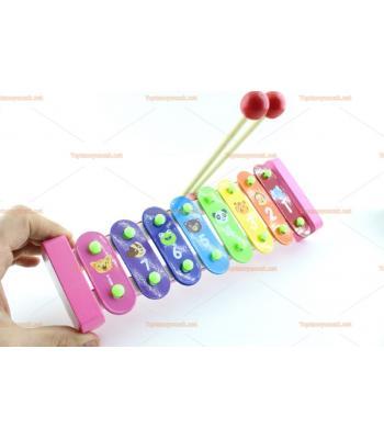 Toptan oyuncak ksilofon ahşap ucuz