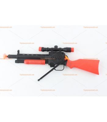 Toptan oyuncak tüfek iki silikon oklu