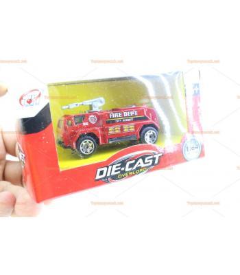 Toptan oyuncak araba kutulu itfaiye ambulans