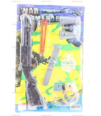 Toptan tüfek seti kartlı taramalı