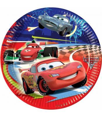 Cars doğum günü tabağı