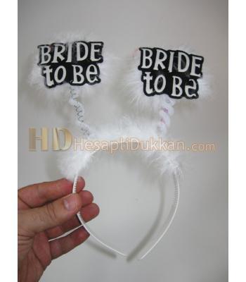 Bride to be taç beyaz