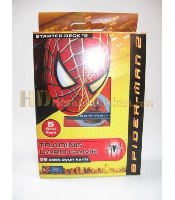 Spider man trading card game - Örümcek adam kart oyunu