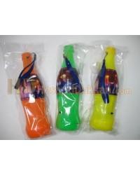 Kola şişesi şeklinde ışıklı düdük promosyon ürünü
