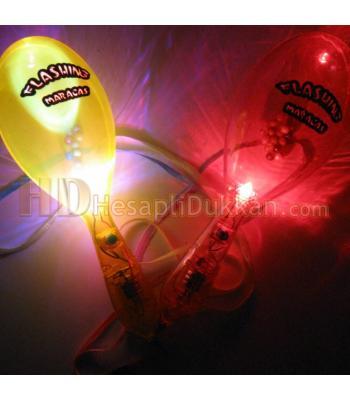 Işıklı marakas hem parti malzemesi hem promosyon