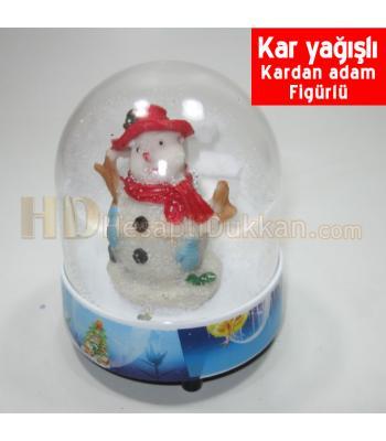 Kardan adam fanus yılbaşı hediyesi