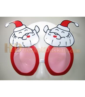 Noel babalı şirin gözlükler