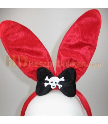 Tavşan kulağı taç kırmızı kuru kafalı