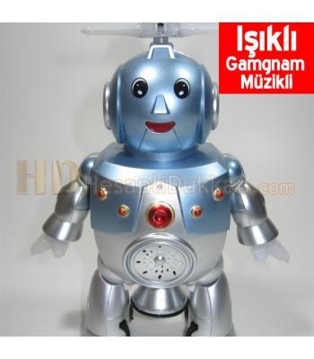 Gamgam müzikli danseden robot gamgnam robot