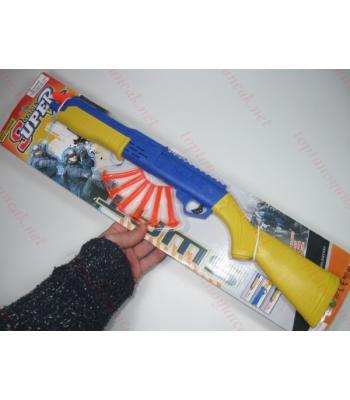 Toptan oyuncak silah silikon oklu tüfek