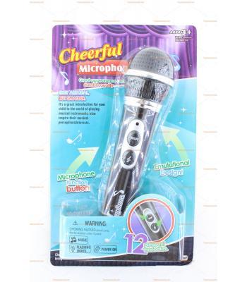 Toptan oyuncak mikrofon siyah