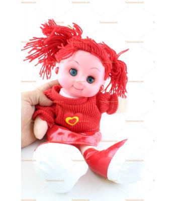 Toptan oyuncak bebek ışıklı müzikli gözleri kapanır