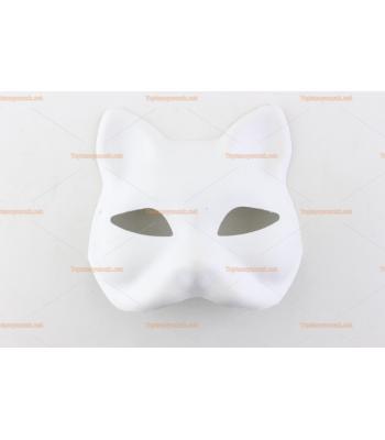 Toptan iş eğitim maskesi kedi figürü