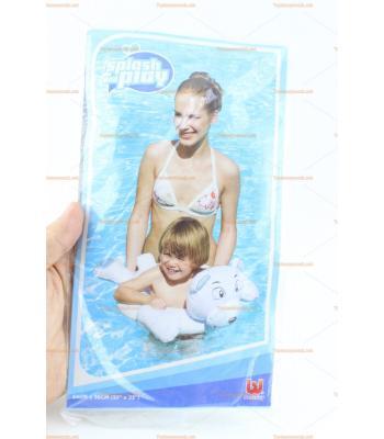 Sevimli köpek şişme havuz simidi 64 cm