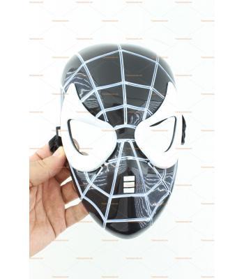 Siyah beyaz örümcek maske