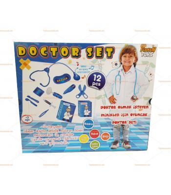 Toptan doktor seti oyuncak büyük boy