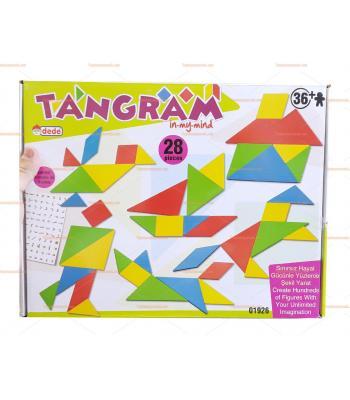 Büyük boy tangram set 28 parça