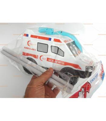 Direksiyonlu ambulans araba