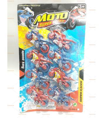Sekizli motosiklet seti