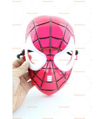 Toptan örümcek maske beyaz göz
