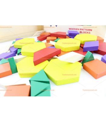 Toptan eğitici oyuncak 60 parça tangram