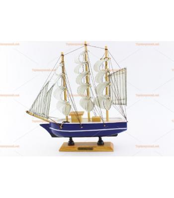 Toptan hediyelik eşya ahşap yelkenli gemi