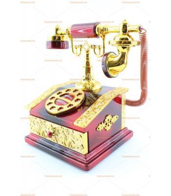 Toptan klasik telefon şeklinde müzik kutusu