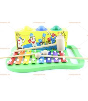 Toptan eğitici oyuncak çekiçli ksilofon