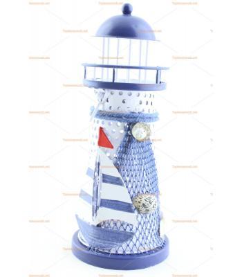 Orta boy deniz feneri şamdan hediyelik eşya toptan