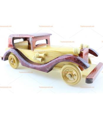 Toptan ahşap model oyuncak araba