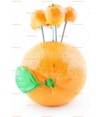 Toptan servis kürdanı meyve şeklinde