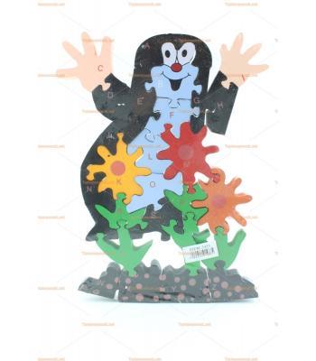 Toptan oyuncak parçalı puzzle penguen