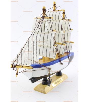 Toptan hediyelik eşya maket mini yelkenli gemi