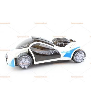 Toptan 3D ışıklı oyuncak polis arabası