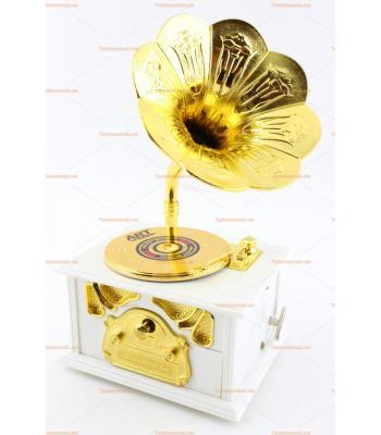 Gramofon şeklinde müzik kutusu toptan