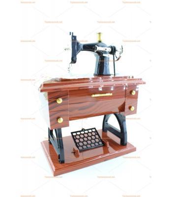 Toptan müzik kutusu hediyelik eşya dikiş makinesi